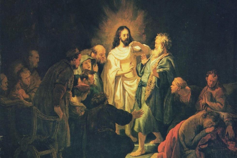 Рембрандт Харменс ван Рейн. Неверие апостола Фомы, 1634