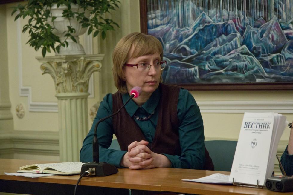 Лидия Крошкина, преподаватель СФИ, исследователь творчества матери Марии (Скобцовой)