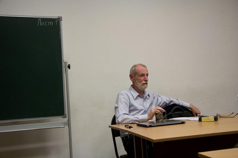 На круглом столе «Тоталитаризм: попытка понимания и преодоления», читаемКарла Ясперса. Сентябрь 2015 года