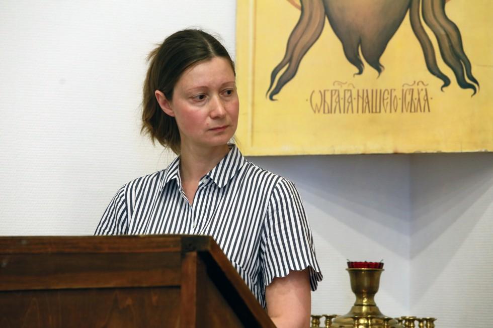 Софья Рудакова, автор работы «Формы и методы деятельности епархиального миссионераНиколая ЮрьевичаВаржанского»