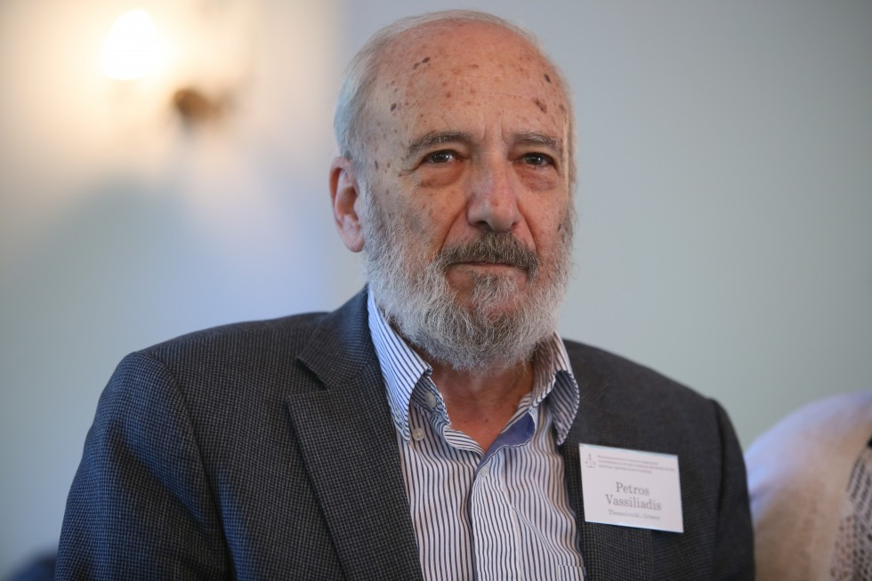 Петрос Василиадис, почетный профессор, президент CEMES, руководитель богословской программы аспирантуры Международного греческого университета