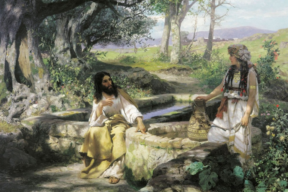 Генрих Семирадский. Христос и самарянка. 1890