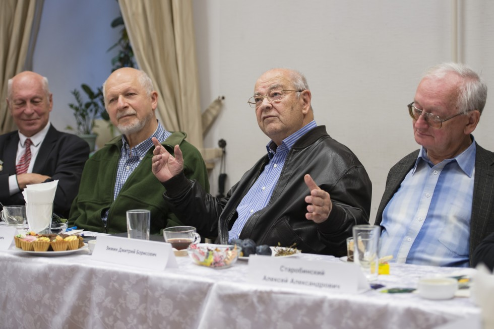 Слева направо: Александр Багров, Геннадий Горелик, Дмитрий Зимин, Алексей Старобинский