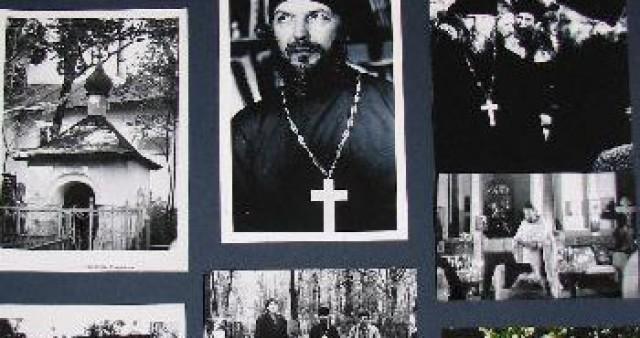 В СФИ открылась фотовыставка к 70-летию прот. Павла Адельгейма