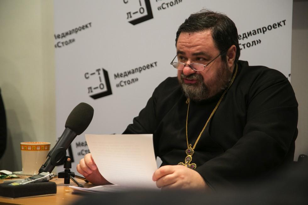 Профессор протоиерей Георгий Митрофанов