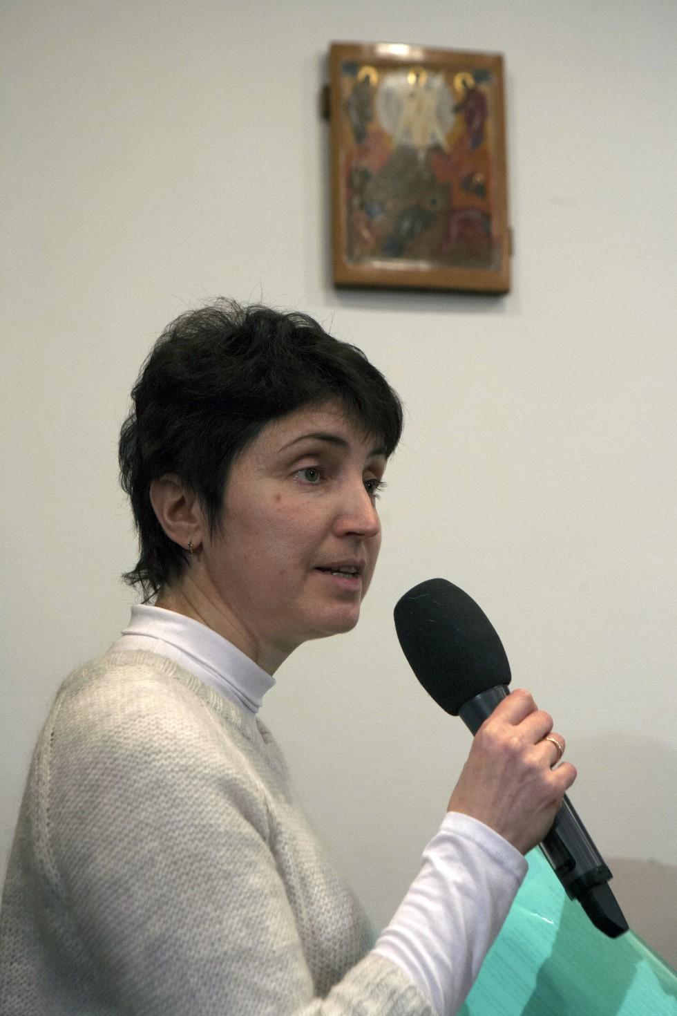 Галина Ложкова, выпускница СФИ, исследователь церковного служения отца Виталия