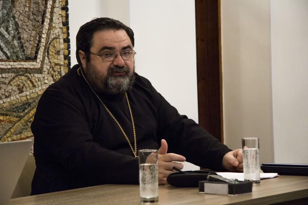 Профессор протоиерей Георгий Митрофанов, доктор богословия, заведующий кафедрой церковной истории Санкт-Петербургской духовной академии