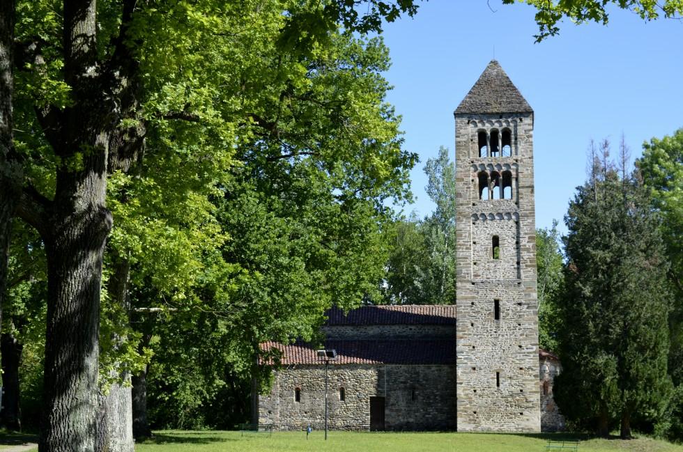 13th c. church at Bose