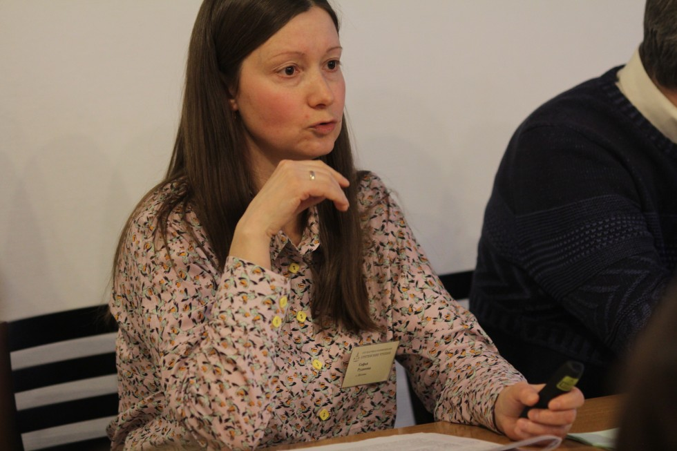 Софья Рудакова (СФИ) представила на секции доклад о Варнавинском обществе трезвости – миссионерском проекте мученика Николая Варжанского