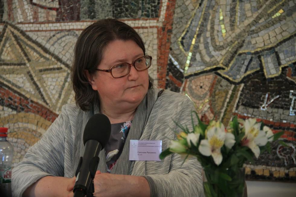 Светлана Чукавина, старший преподаватель СФИ, катехизатор