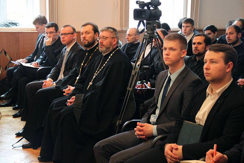 Открытие научной конференции Смоленской духовной семинарии
