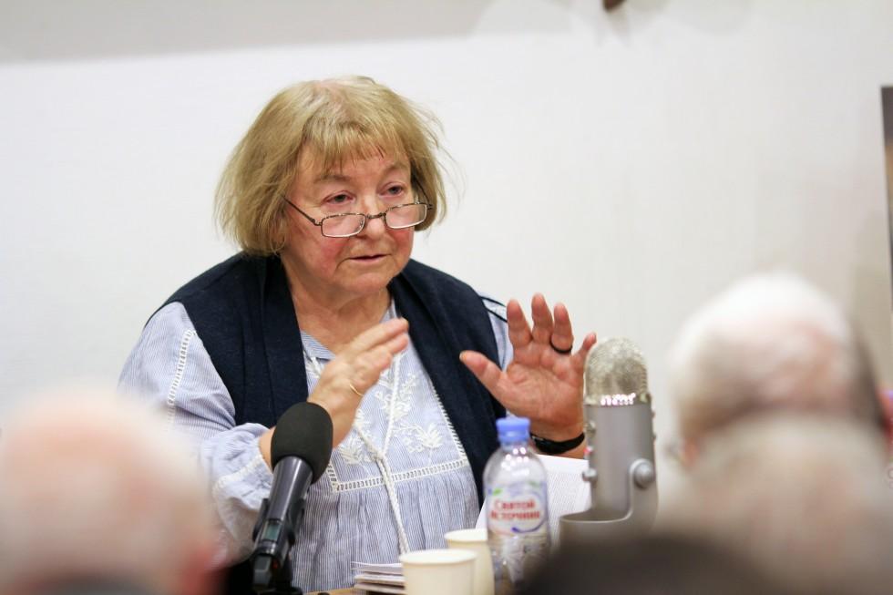 Светлана Неретина, главный научный сотрудник сектора философских проблем социальных и гуманитарных наук ИФ РАН