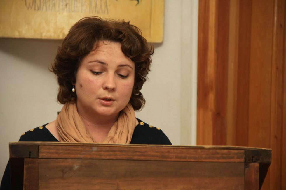 """Мария Кушнир, автор исследования «Дан 7 как контекст понятия """"Сын Человеческий"""" в синоптических евангелиях»"""