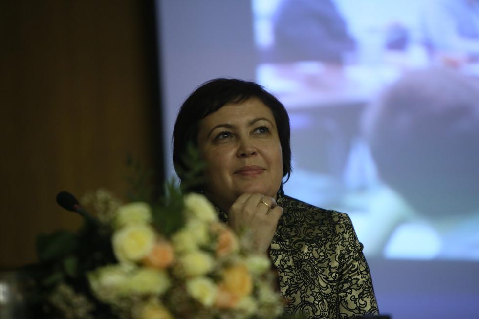 Марина Анатольевна Наумова, проректор СФИ по общим вопросам