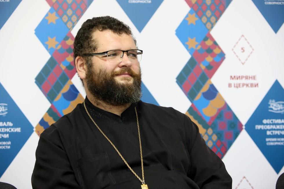 Протоиерей Максим Кокарев, исполняющий обязанности ректора Самарской духовной семинарии