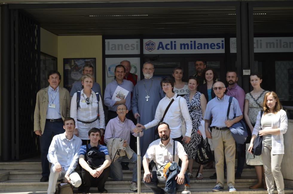 Встреча с представителями АКЛИ в Милане