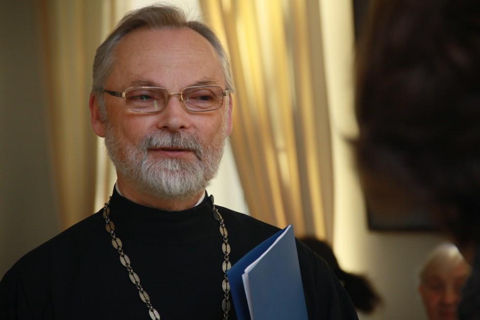 Профессор священник Георгий Кочетков, ректор Свято-Филаретовского православно-христианского института