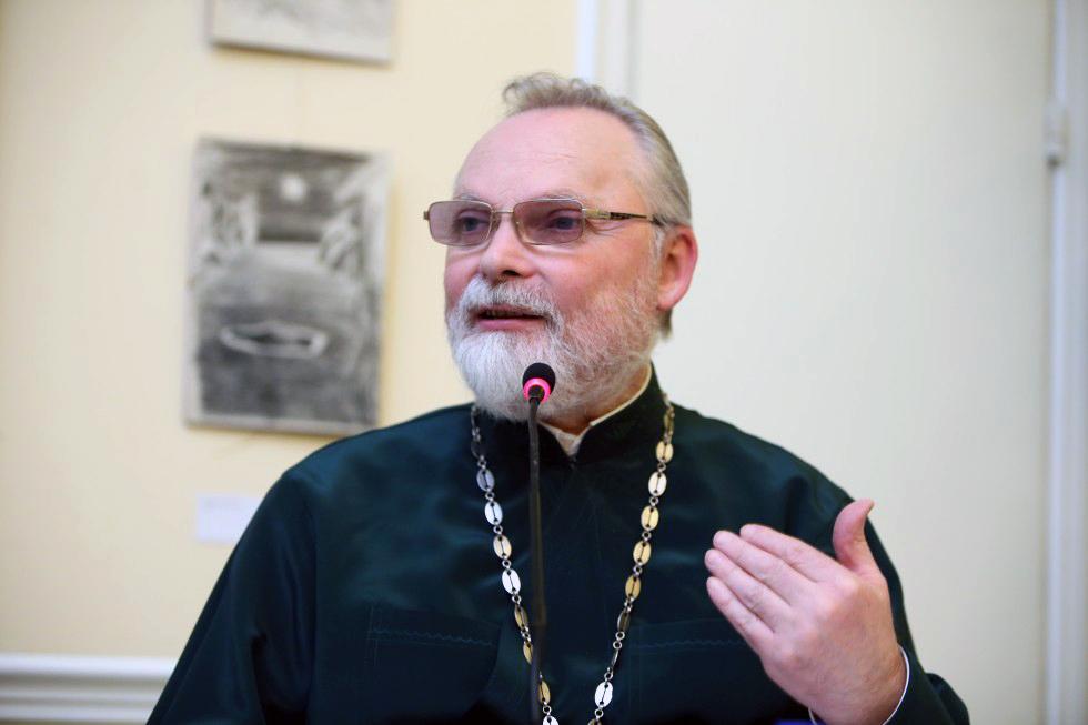 Священник Георгий Кочетков, ректор Свято-Филаретовского православно-христианского института