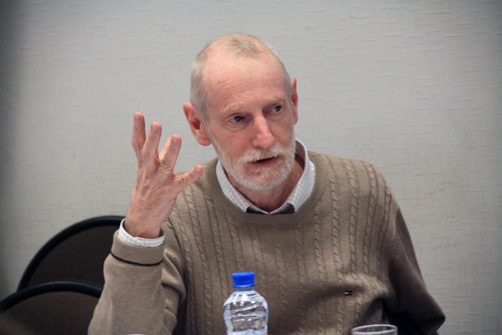 Григорий Гутнер, доктор философских наук, заведующий кафедрой философии, гуманитарных и естественнонаучных дисциплин СФИ