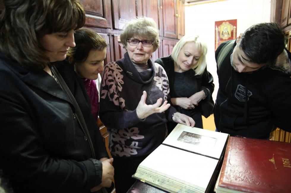 Лидия Ивановна Упит, заведующая фотохранилищем РГАКФД