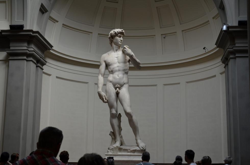 Давид, Микеланджело, 1501-1504 гг. Академия изящных искусств, Флоренция