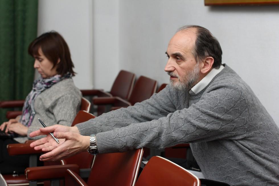 Александр Копировский, кандидат педагогических наук, профессор кафедры философии, естественнонаучных и гуманитарных дисциплин, ученый секретарь СФИ