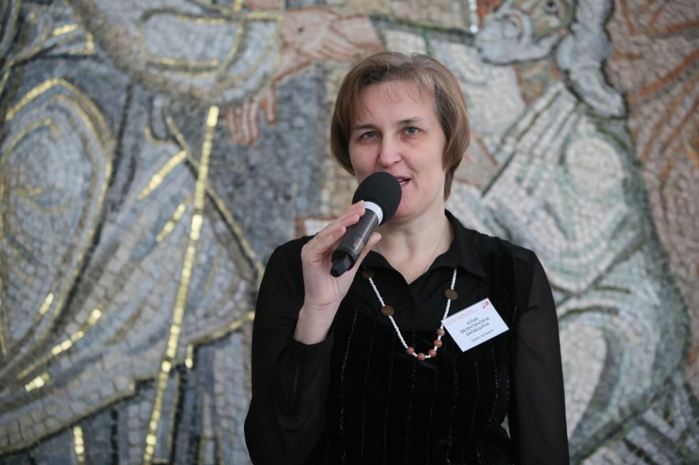 Юлия Балакшина, председатель оргкомитета конференции, ученый секретарь СФИ
