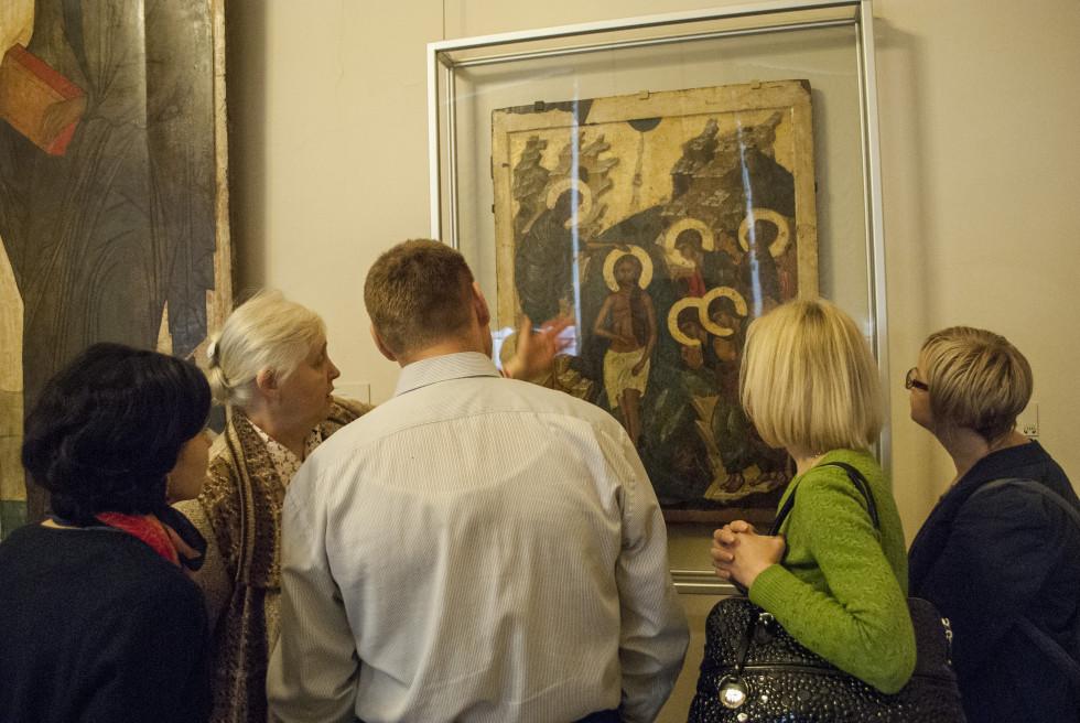 Русский музей.Зал древнерусской иконы
