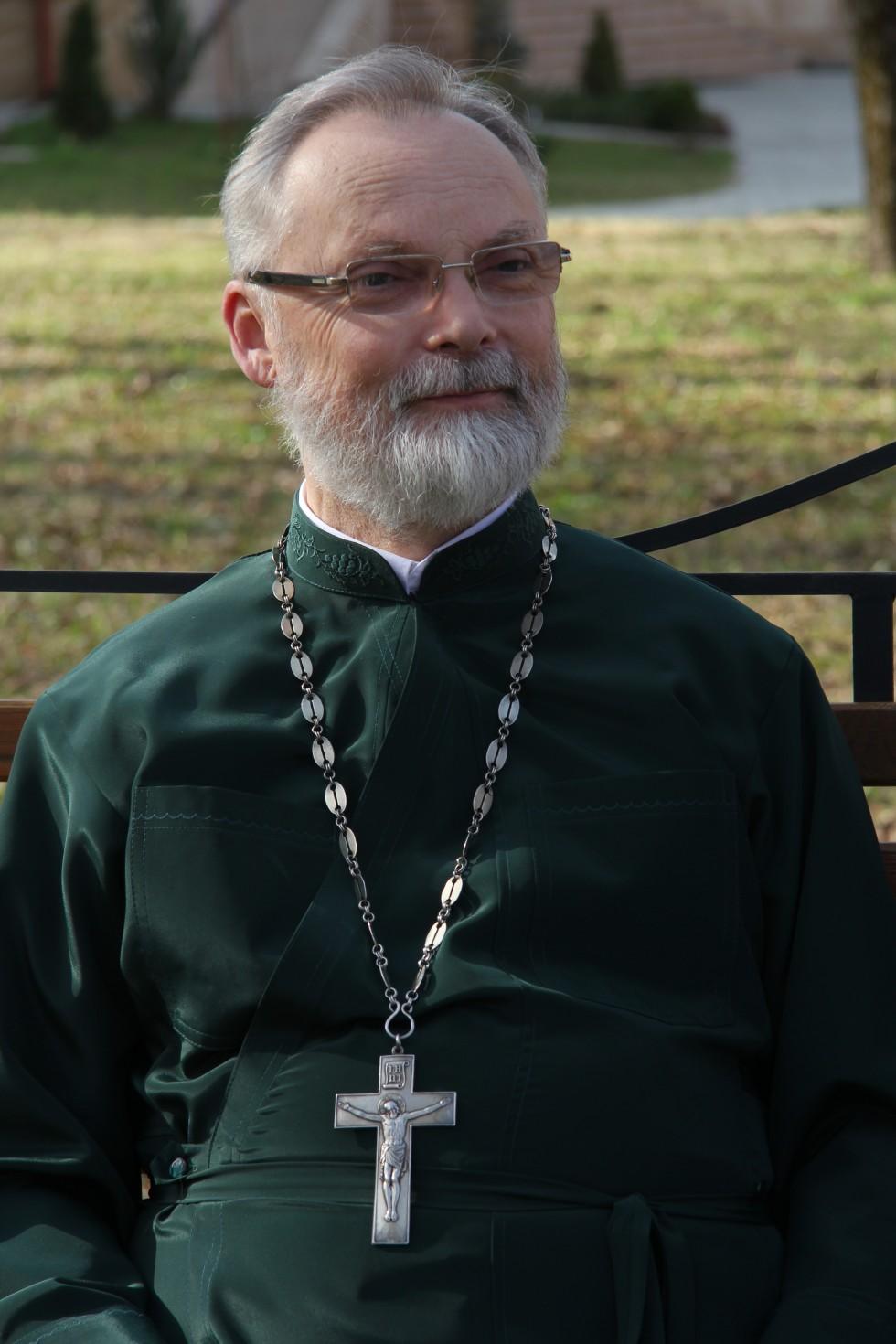 Профессор священник Георгий Кочетков, кандидат богословия, ректор СФИ