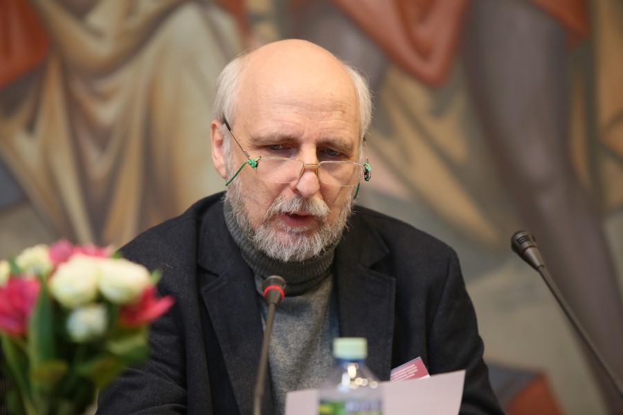 Писатель Павел Проценкосделал доклад «Киевское братство «Иисуса Сладчайшего» (1917−1930): плоды деятельности – взгляд из настоящего»
