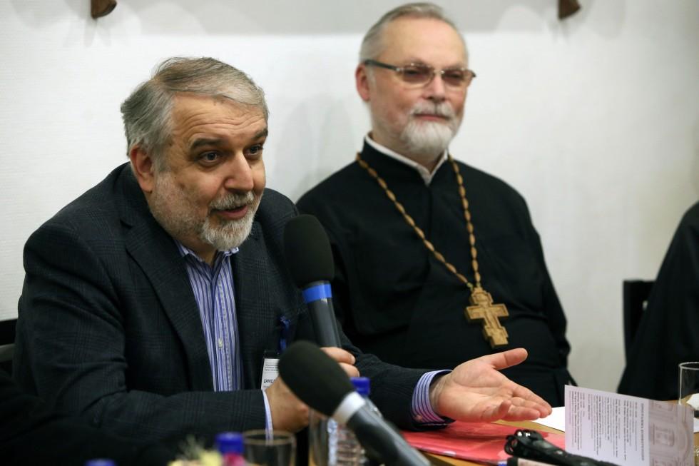 Давид Гзгзян, декан богословского факультета СФИ