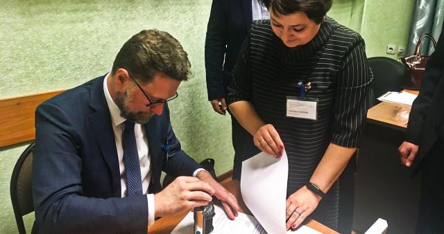 СФИ и Гродненский государственный университет заключили договор о сотрудничестве