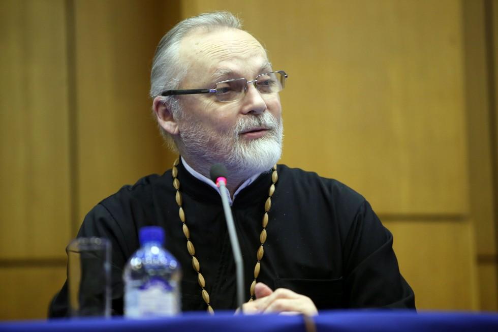 Ректор Свято-Филаретовского православно-христианского института священник Георгий Кочетков