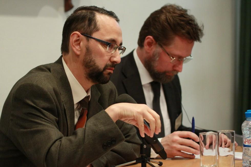 Доктор Себастьян Молдован и Дмитрий Гасак