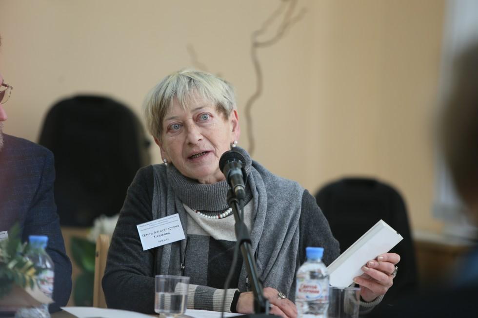 Ольга Седакова, старший научный сотрудник Института истории и теории мировой культуры МГУ