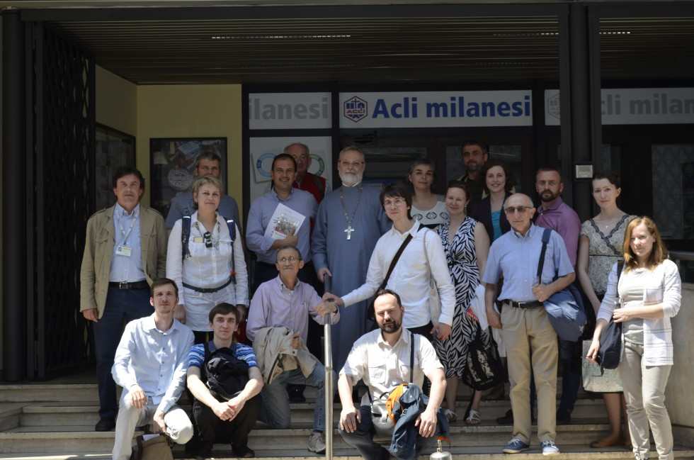 Meeting with representatives of ACLI in Milan