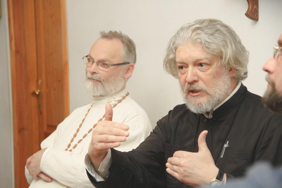Священник Георгий Кочетков, протоиерей Алексий Уминский