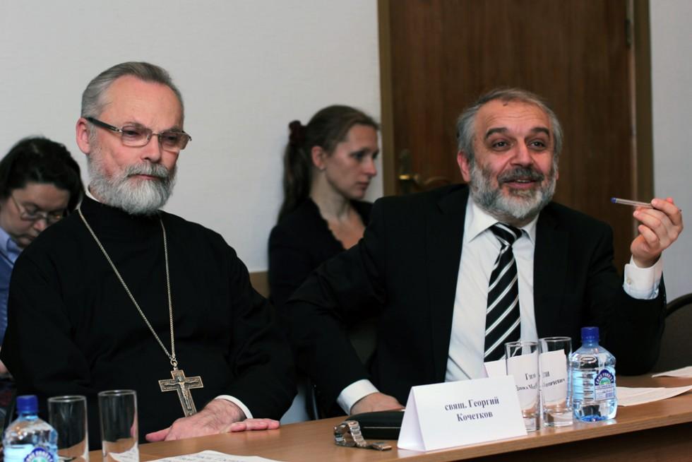 член Межсоборного присутствия Русской православной церкви кандидат филологических наук Д.М. Гзгзян Профессор