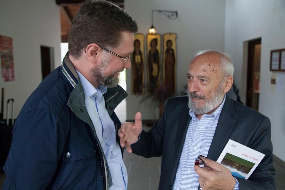 Дмитрий Гасак,профессор Петрос Василиадис