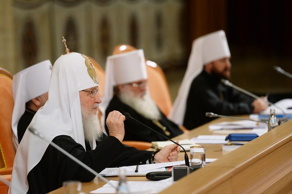 Святейший патриарх Кирилл. Фото:mospat.ru